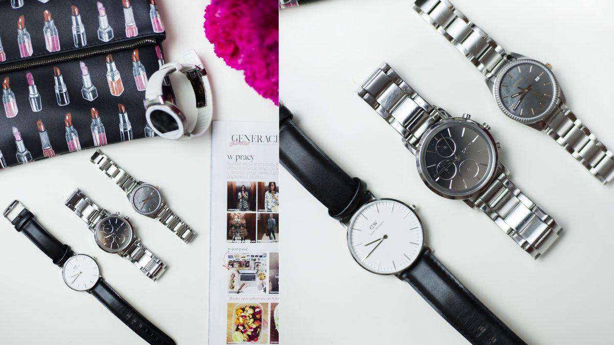 Podobno szczęśliwi czasu nie liczą? – A ja lubię moją kolekcję zegarków!