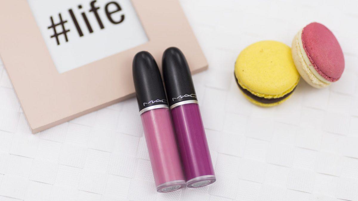 mac retro matte liquid lipcolour – pomadki idealne?
