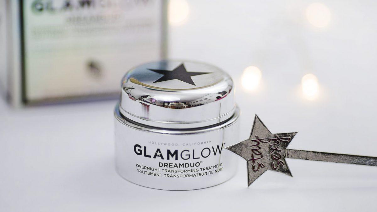 GlamGlow Dream Duo – maseczka o zapachu pomarańczowego sorbetu