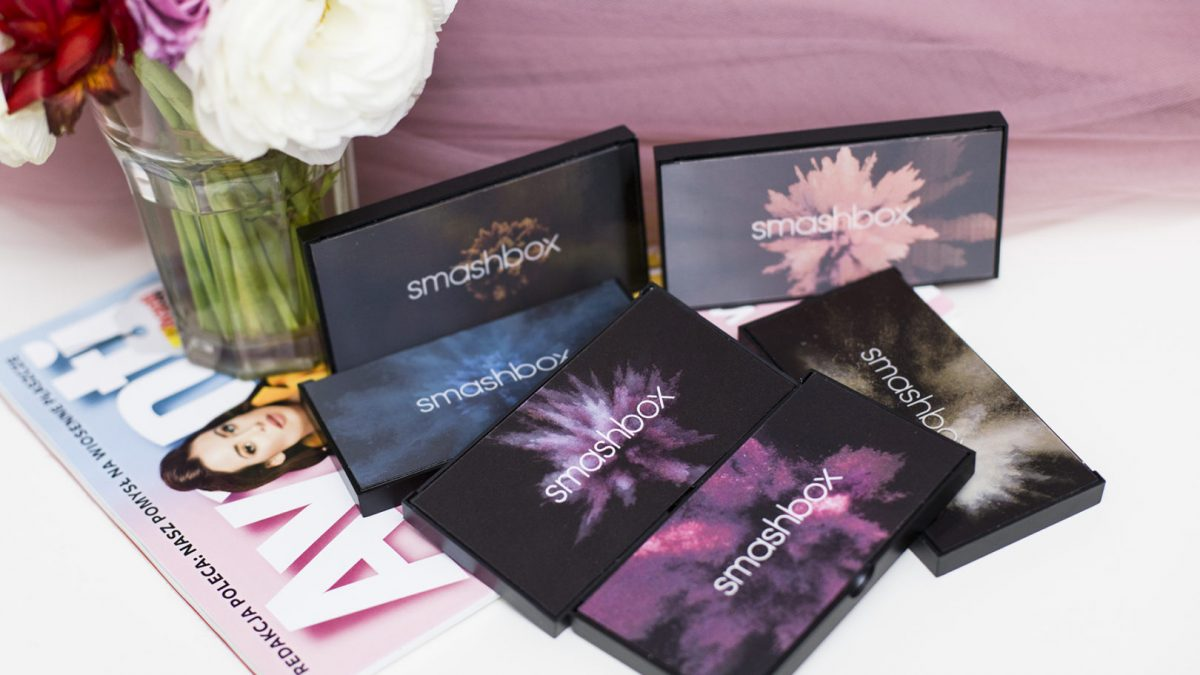 smashbox cover shoot palette – 6 paletek cieni + makijaże
