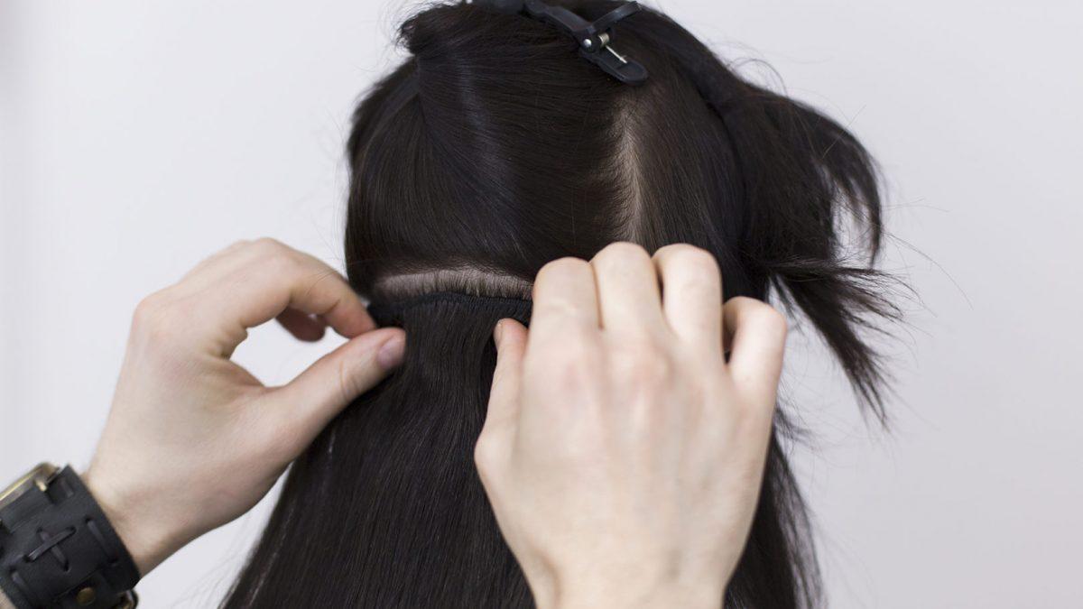#Bridetobe: fryzura półupięta – włosy clip in