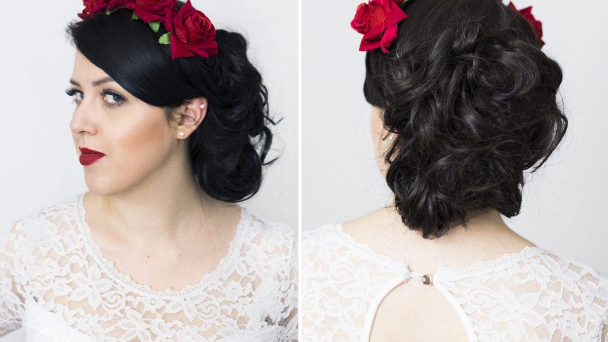 #Bridetobe: romantyczne upięcie do ślubu