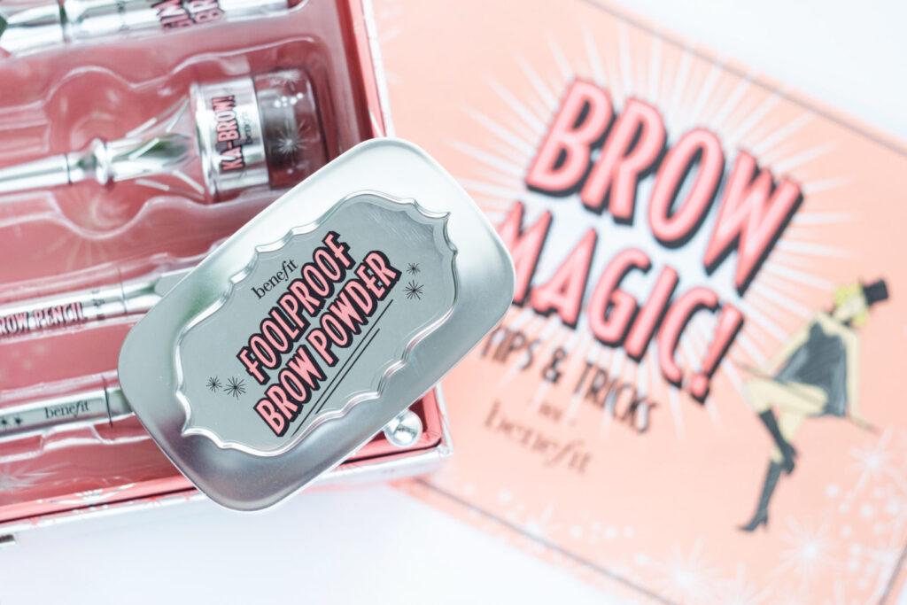 cienie do brwi benefit foolproof brow powder